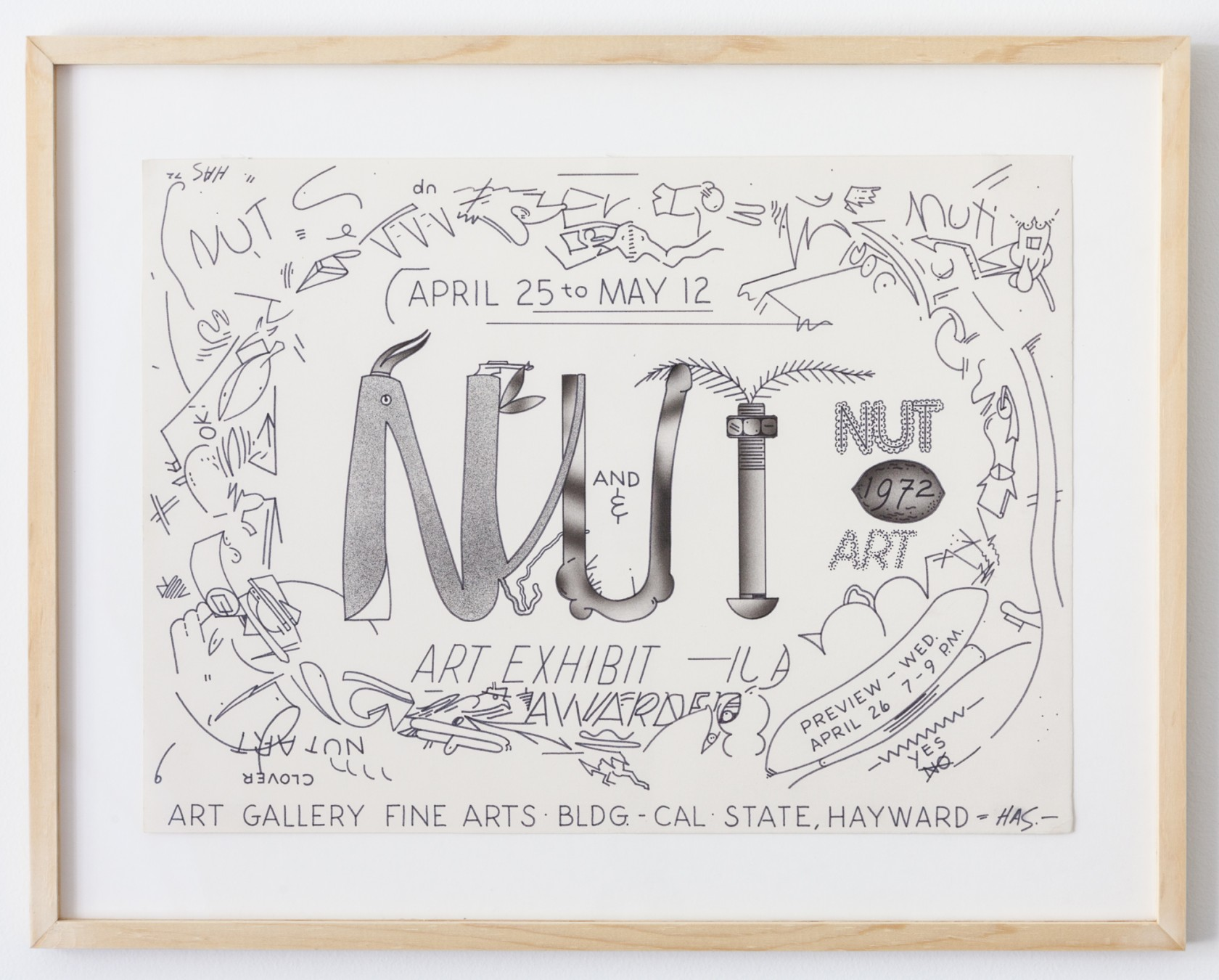 Parker Gallery | Nut Art